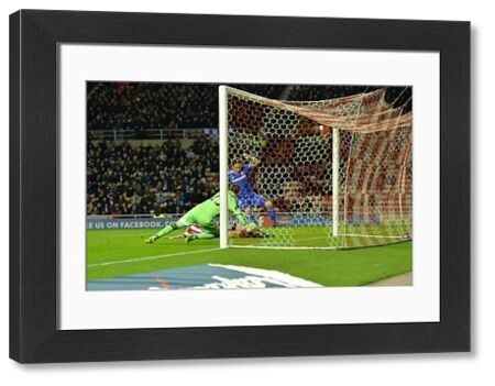 Frank Lampard scores Chelsea's opening goal