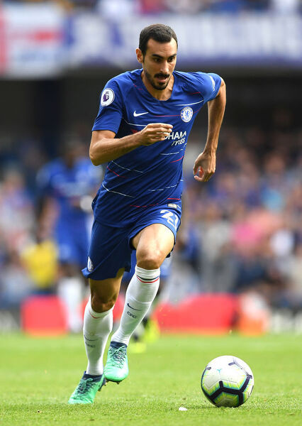 LONDON, ENGLAND - SEPTEMBER 15: Davide Zappacosta of Chelsea runs with the ball during the Premier League match between Chelsea FC and Cardiff City at Stamford Bridge on September 15, 2018 in London, United Kingdom