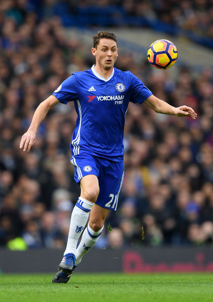 LONDON, ENGLAND - FEBRUARY 04: Nemanja Matic of Chelsea in action during the Premier League match between Chelsea and Arsenal at Stamford Bridge on February 4, 2017 in London, England. (Photo by Darren Walsh/Chelsea FC via Getty Images)