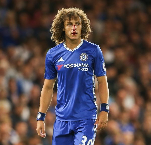Chelsea's David Luiz during the Premier League match at Stamford Bridge, London. PRESS ASSOCIATION Photo. Picture date: Friday September 16, 2016. See PA story SOCCER Chelsea. Photo credit should read: Scott Heavey/PA Wire. RESTRICTIONS