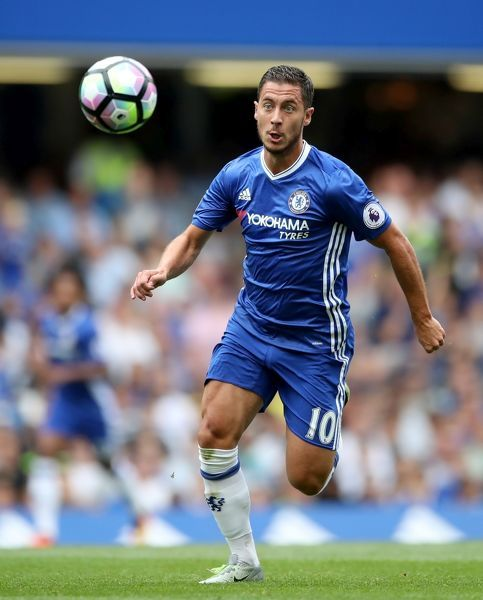 File photo dated of Chelsea's Eden Hazard, who appeared to take a sly dig at Jose Mourinho after inspiring Chelsea to a 3-0 win over Burnley