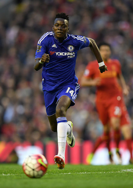 Chelsea's Bertrand Traore in action