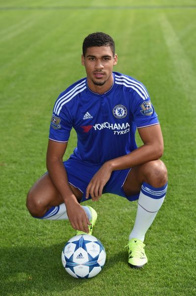 Chelsea's Ruben Loftus-Cheek during the 1st team photocall at the Cobham Training Ground on 10th September 2015 in Cobham, England