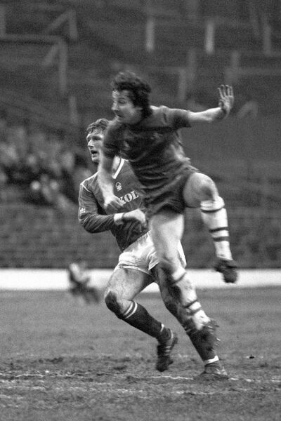 Chelsea's Mickey Thomas in action