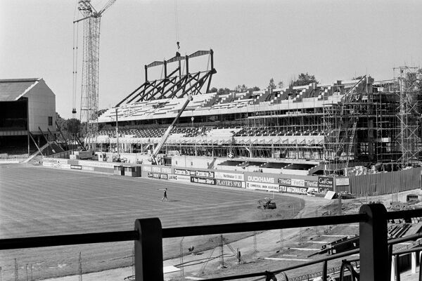 Chelsea's new East Stand begins to take shape