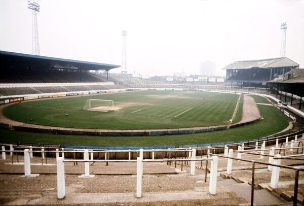 General view of Stamford Bridge, home of Chelsea