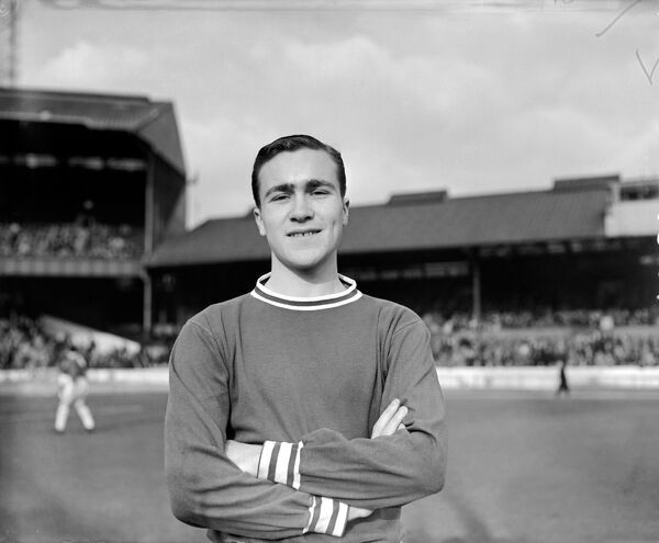Chelsea's Ron Harris poses for a picture before making his first team debut