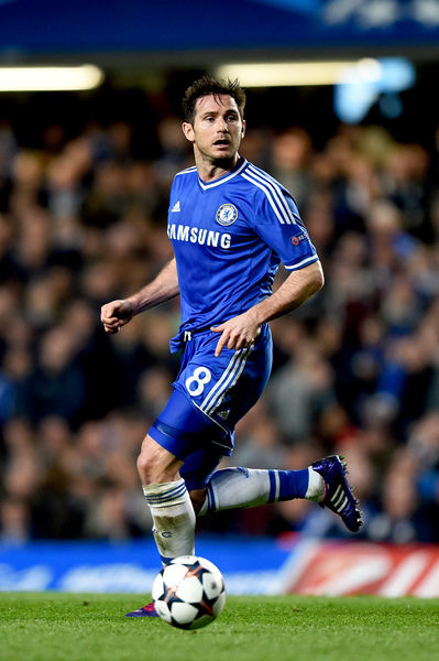 Chelsea's Frank Lampard in action