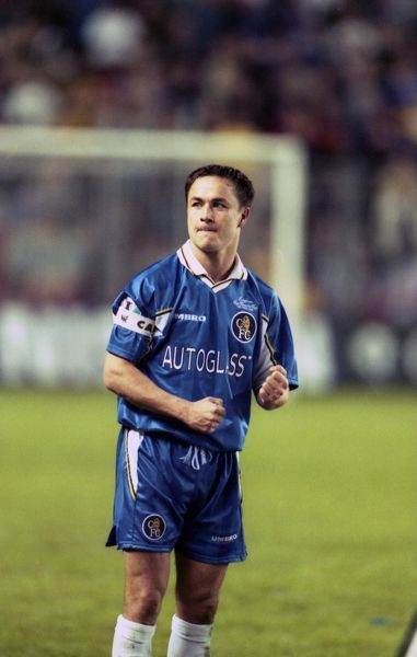 Chelsea's Dennis Wise. (Photo by Dave Shopland/Chelsea FC/Press Association Image)