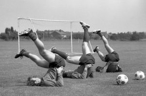 Pre-Season training, 1980