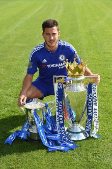 Soccer - Barclays Premier League - Chelsea FC 2015/16 Team Photocall - Cobham Training