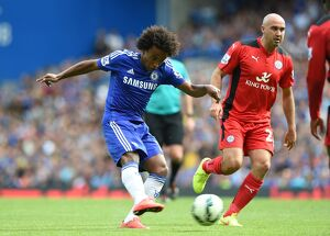 Soccer - Barclays Premier League - Chelsea v Leicester City - Stamford Bridge