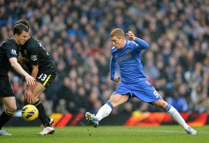Soccer - Barclays Premier League - Chelsea v Wigan Athletic - Stamford Bridge