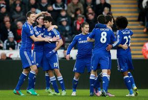 Soccer - Barclays Premier League - Swansea City v Chelsea - Liberty Stadium