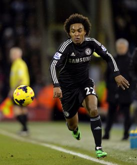 West Bromwich Albion v Chelsea 11th February 2014 (Selection of 9 Items)