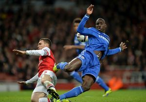 Soccer - Capital One Cup - Fourth Round - Arsenal v Chelsea - Emirates Stadium