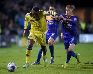 Soccer - Capital One Cup - Fourth Round - Shrewsbury Town v Chelsea - Greenhous Meadow