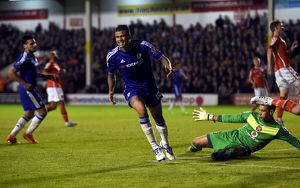 Soccer - Capital One Cup - Third Round - Walsall v Chelsea - Banks' Stadium