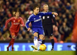 Soccer - Capital One Cup - Semi Final - First Leg - Liverpool v Chelsea - Anfield