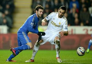 Soccer - Capital One Cup - Semi Final - Second Leg - Swansea City v Chelsea - Liberty