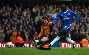 Soccer - FA Barclaycard Premiership - Chelsea v Wolverhampton Wanderers