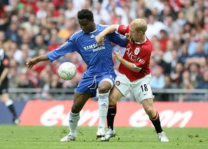 Soccer - FA Cup - Final - Chelsea v Manchester United - Wembley Stadium