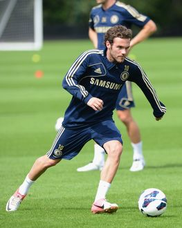 Soccer - Pre Season Training - Chelsea Training - Cobham Training Ground