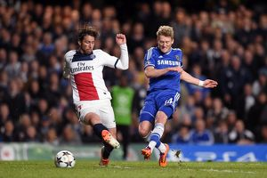 Soccer - UEFA Champions League - Quarter Final - Second Leg - Chelsea v Paris Saint-Germain