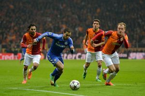 Soccer - UEFA Champions League - Round of 16 - Galatasaray v Chelsea - Turk Telekom Arena