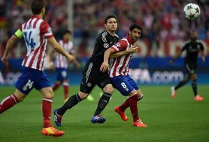 Soccer - UEFA Champions League - Semi Final - First Leg - Atletico Madrid v Chelsea