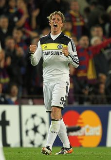 Soccer - UEFA Champions League - Semi Final - Second Leg - Barcelona v Chelsea