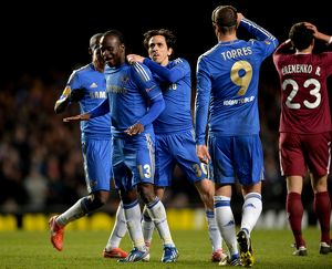 Soccer - UEFA Europa League - Quarter Final - First Leg - Chelsea v Rubin Kazan