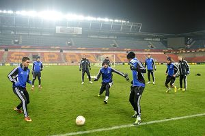 Soccer - UEFA Europa League - Round of 16 - First Leg - Chelsea Training and Press