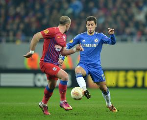 Soccer - UEFA Europa League - Round of 16 - First Leg - Steaua Bucharest v Chelsea - Arena Nationala