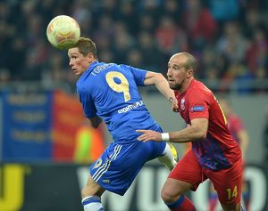 Soccer - UEFA Europa League - Round of 16 - First Leg - Steaua Bucharest v Chelsea