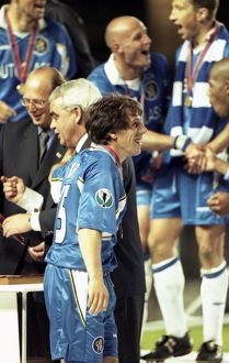 Soccer - UEFA European Cup-Winners Cup Final - Chelsea v VfB Stuttgart, Rasunda Stadium, Stockholm - 13th May 1998