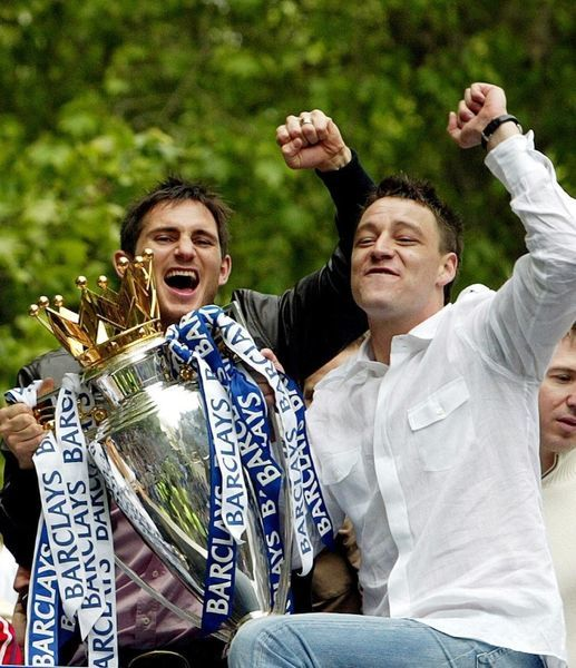 Frank Lampard (L) and John Terry
