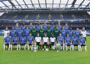 team photographs/soccer barclays premier league chelsea team
