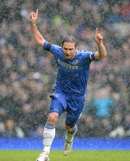 players/squad 2012 2013 season frank lampard/soccer barclays premier league chelsea v arsenal