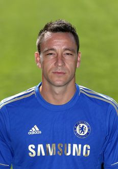 players/squad 2012 2013 season john terry/soccer chelsea squad photocall season 2013 14