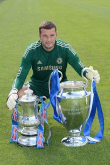 players/squad 2012 2013 season ross turnbull/soccer chelsea team photocall cobham training