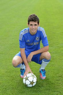 players/squad 2012 2013 season oscar/soccer chelsea team photocall cobham training