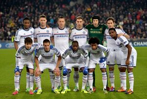 european matches/2013 2014 season champions league basel v chelsea 26th november 2013/soccer uefa champions league group e fc
