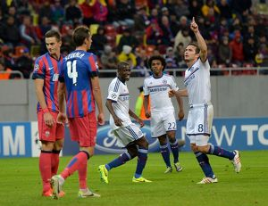 european matches/2013 2014 season champions league steaua bucharest v chelsea 1st october 2013/soccer uefa champions league group e steau
