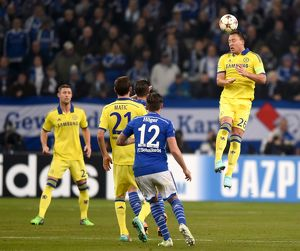 european matches/2014 2015 season champions league schalke 04 v chelsea 25th november 2015/soccer uefa champions league group g schalke