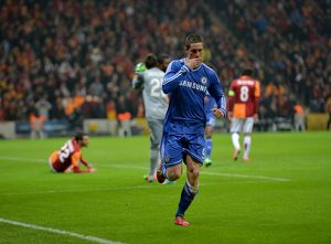 european matches/2013 2014 season champions league galatasaray v chelsea 26th february 2014/soccer uefa champions league round 16 galatasaray